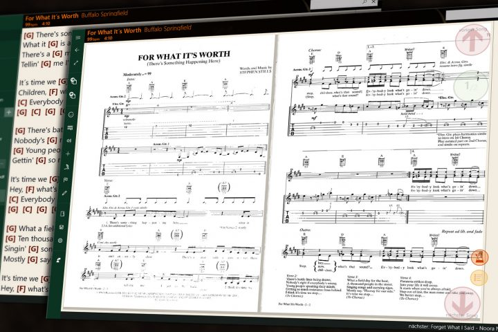 SongRepertoire – Manage music sheets, playbacks and set lists